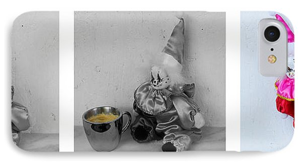Allegory Of The Coffee Drinker By William Patrick IPhone Case by Sharon Cummings