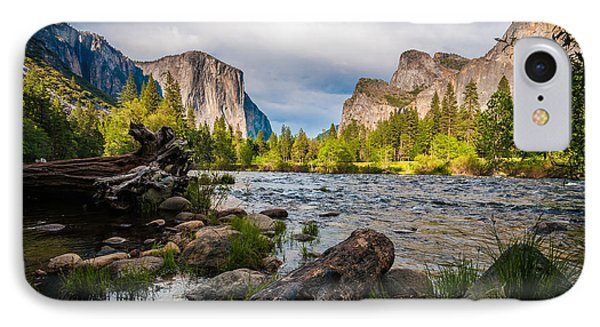 Along The Merced IPhone Case by Kristopher Schoenleber