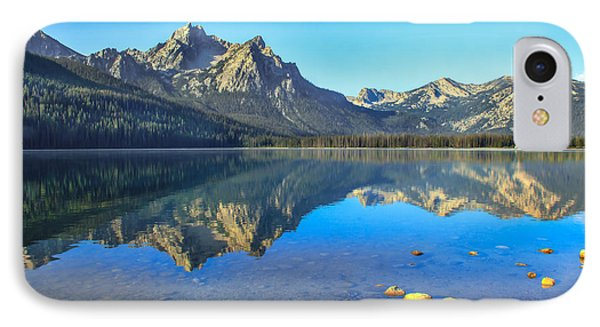 Alpine Lake Reflections Phone Case by Robert Bales