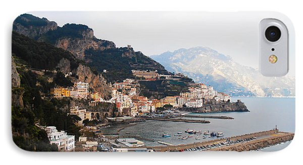 Amalfi Italy Phone Case by Pat Cannon