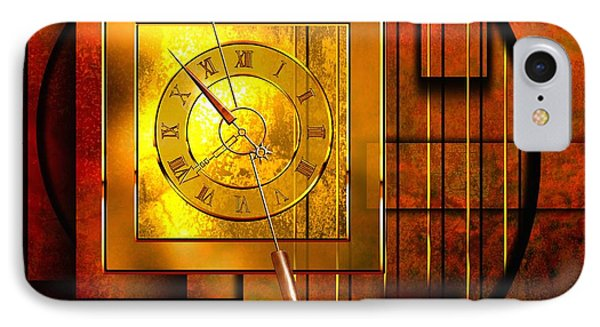 Amber Clock IPhone Case by Franziskus Pfleghart