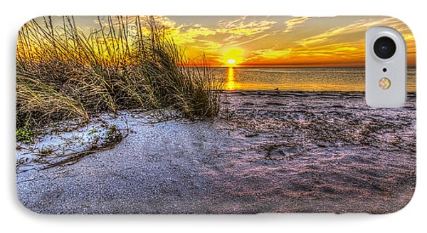 Ambience Of The Gulf IPhone Case by Marvin Spates