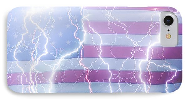 America The Powerful Phone Case by James BO  Insogna