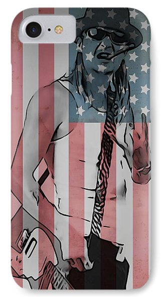 American Badass IPhone Case by Dan Sproul