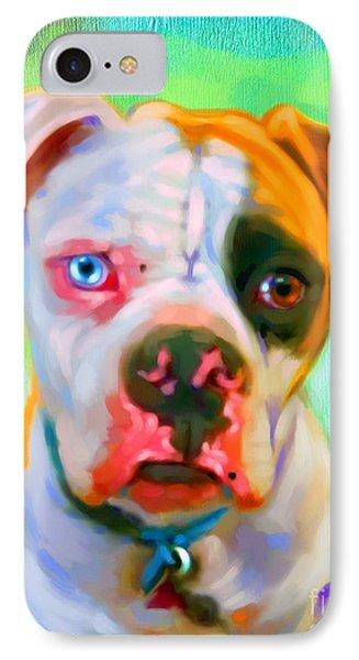 American Bulldog Art Phone Case by Iain McDonald