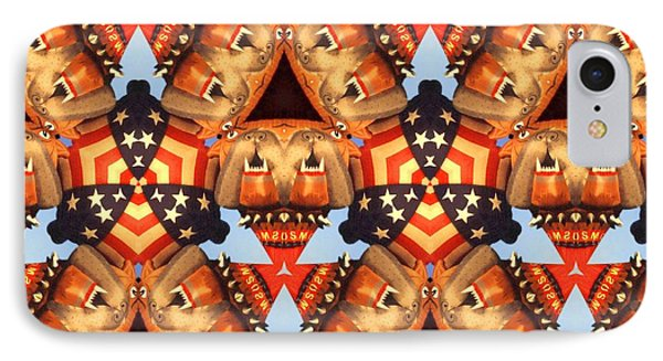 American Elections 2016 - Red White Blue IPhone Case by Art America Online Gallery