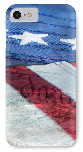 American Flag Phone Case by Christina Rollo