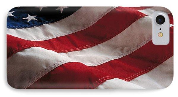 American Flag IPhone Case by Jon Neidert