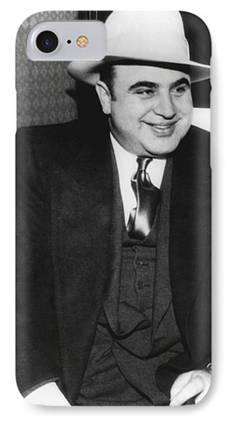 American Gangster Al Capone IPhone Case by Underwood Archives