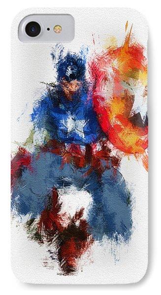 American Hero IPhone Case by Miranda Sether