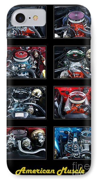American Muscle IPhone Case by Olivier Le Queinec