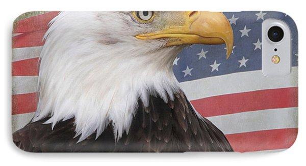 American Pride IPhone Case by Angie Vogel