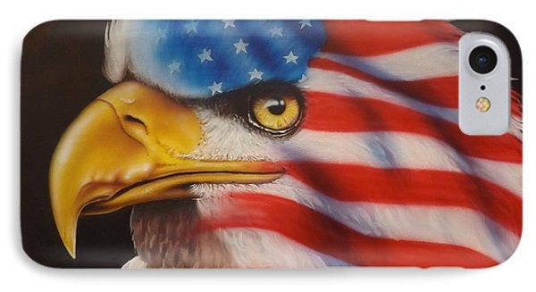 American Pride IPhone Case by Darren Robinson