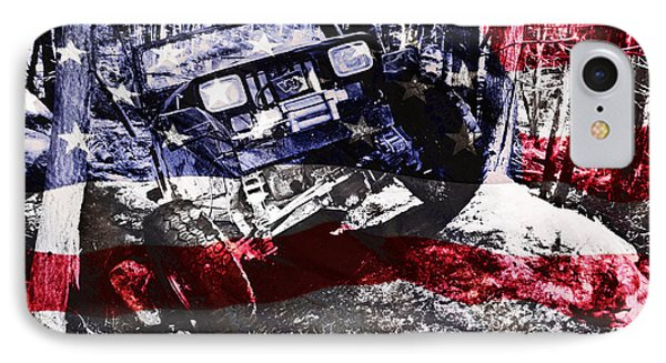 American Wrangler IPhone Case by Luke Moore