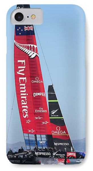 America's Cup Emirates Team New Zealand IPhone Case by Steven Lapkin