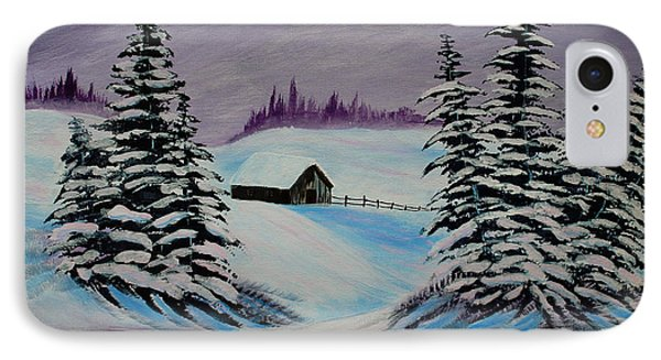 Amethyst Evening After Ross Phone Case by Barbara Griffin