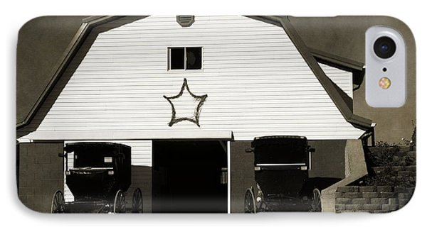 Amish Barn And Buggies IPhone Case by Dan Sproul