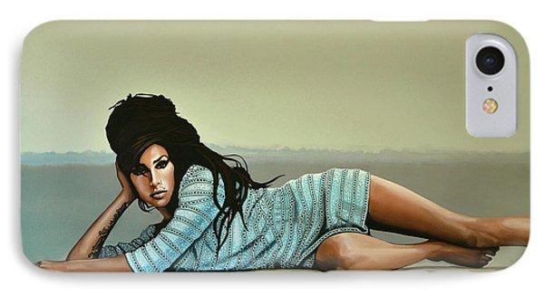Amy Winehouse 2 IPhone Case by Paul Meijering