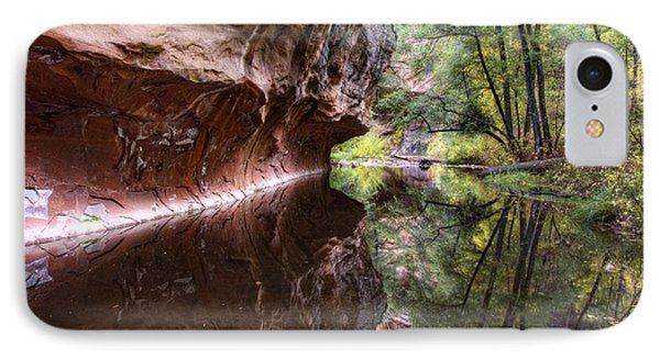 An Autumn Day In West Fork  IPhone Case by Saija  Lehtonen