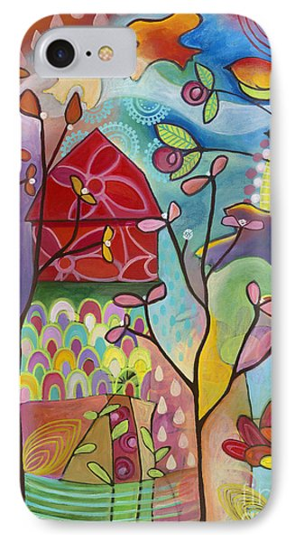 An Evening At The Barn Phone Case by Carla Bank