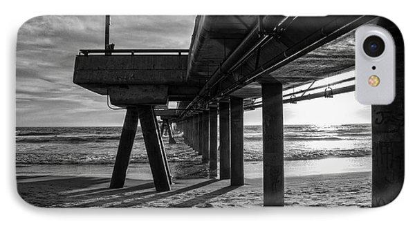 An Evening At Venice Beach Pier IPhone 7 Case by Ana V Ramirez