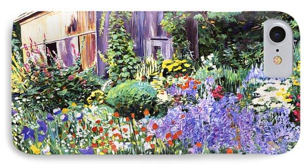 An Impressionist Garden IPhone Case by David Lloyd Glover
