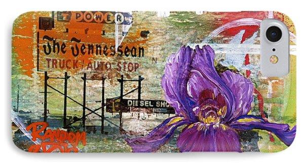 An Iris For The Tennessean Phone Case by Andrea LaHue aka Random Act