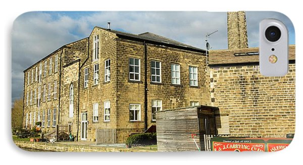 An Old Cotton Mill Converted Into Housing IPhone Case by Ashley Cooper