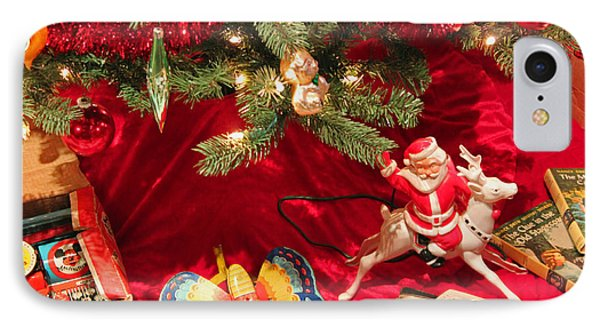 An Old Fashioned Christmas - Santa Claus IPhone Case by Suzanne Gaff
