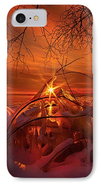 An Old Peaceful Tale IPhone Case by Phil Koch
