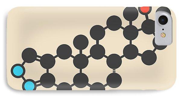 Anabolic Steroid Drug Molecule IPhone Case by Molekuul