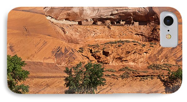 Ancient Anasazi Pueblo Canyon Dechelly Phone Case by Bob and Nadine Johnston