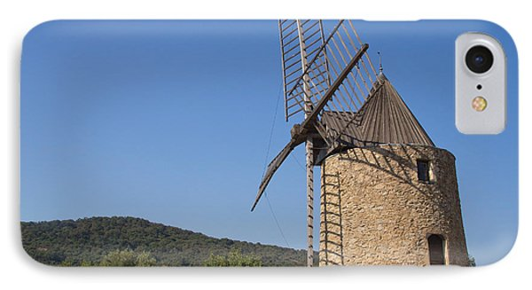 Ancient Stone Windmill IPhone Case by Jaroslav Frank