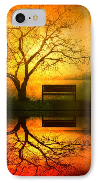 And I Will Wait For You Until The Sun Goes Down IPhone Case by Tara Turner
