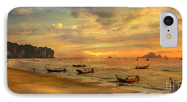 Andaman Sunset Phone Case by Adrian Evans