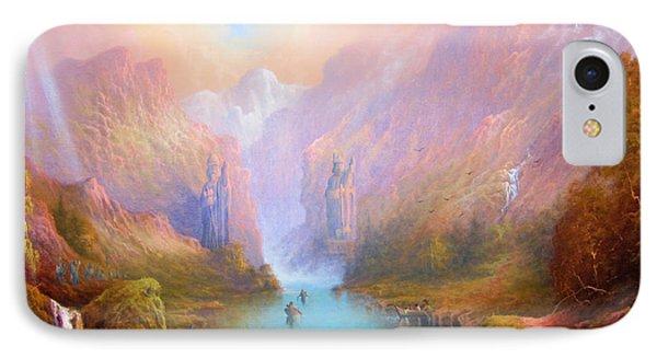 Anduin The Great River IPhone Case by Joe  Gilronan