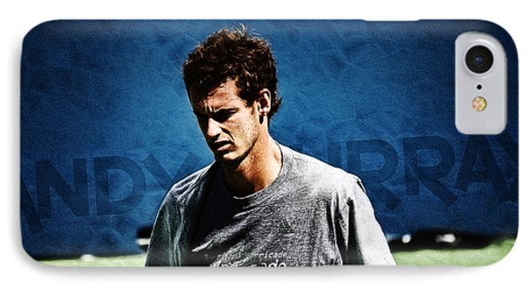 Andy Murray Phone Case by Nishanth Gopinathan
