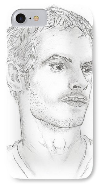 Andy Murray IPhone Case by Steven White