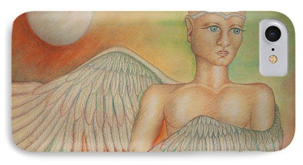 Angel Boy Phone Case by Claudia Cox