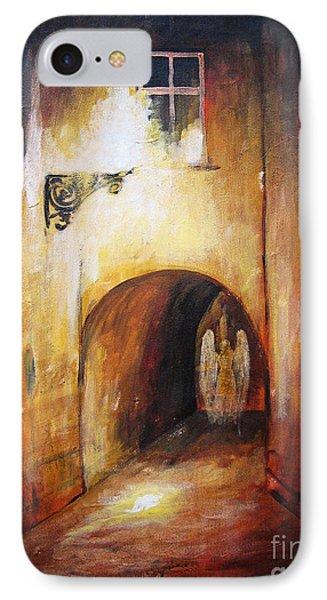 Angel In The Alley IPhone Case by Dariusz Orszulik