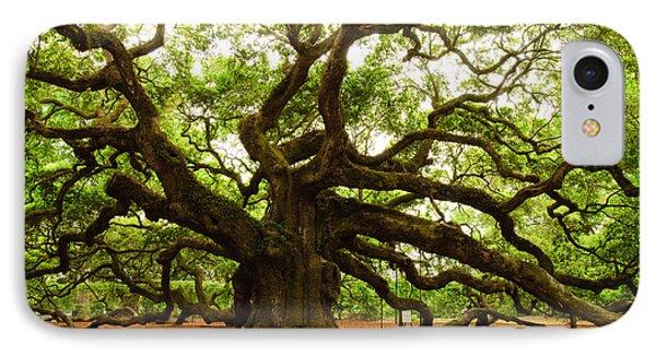 Angel Oak Tree 2009 Phone Case by Louis Dallara