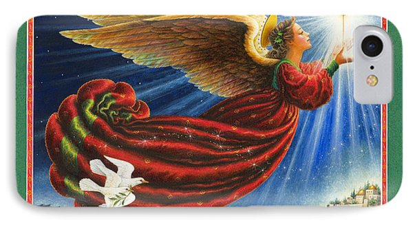 Angel Of The Star IPhone Case by Lynn Bywaters