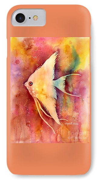 Angelfish II IPhone Case by Hailey E Herrera
