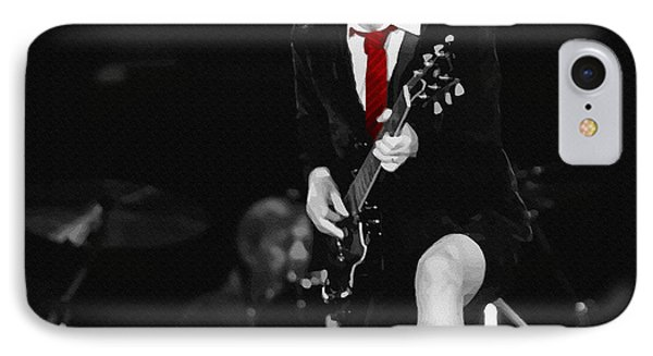 Angus Young IPhone Case by Don Kuing