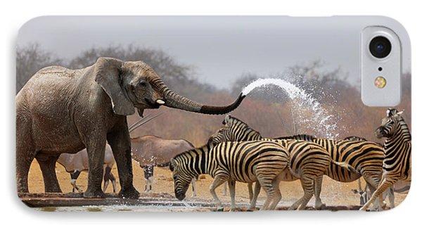 Animal Humour IPhone Case by Johan Swanepoel