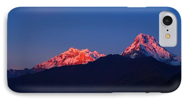 Annapurna South Massif IPhone Case by FireFlux Studios