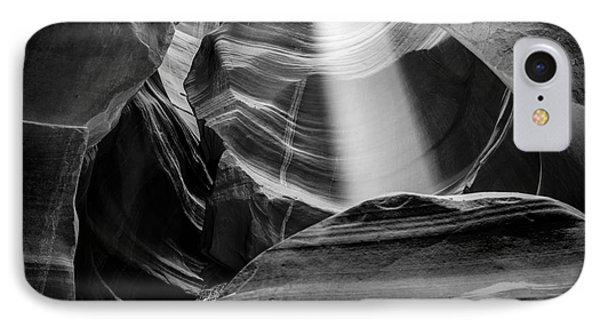 Antelope Canyon Beam 2 IPhone Case by Az Jackson
