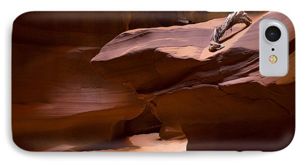 Antelope Canyon Hike Phone Case by Michael J Bauer