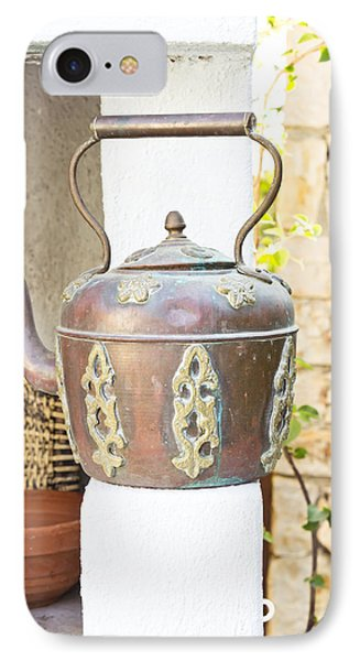 Antique Kettle IPhone Case by Tom Gowanlock