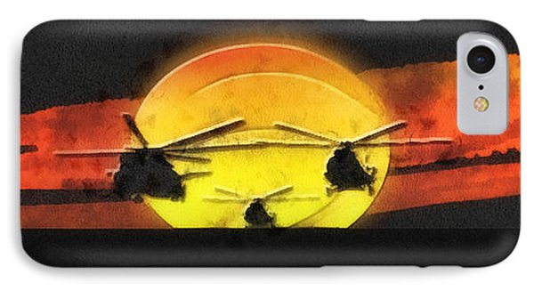 Apocalypse Now Phone Case by Mo T
